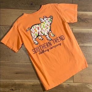Southern Trend Popsicle Pig T-shirt